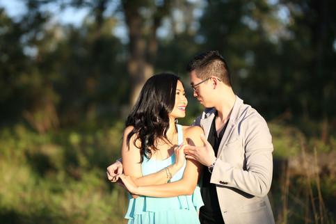 Man and Woman dancing in Calgary Park