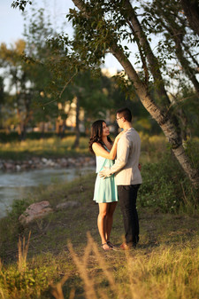 Engagement Photography in Calgary Park