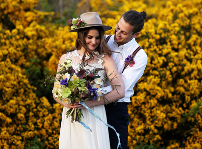 Bride and Groom in Victoria