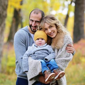 Fun Fall Family Photography