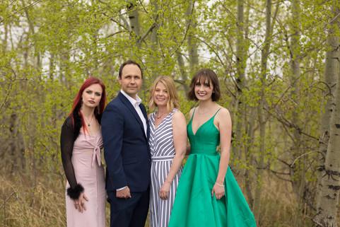 Calgary Family in City Park