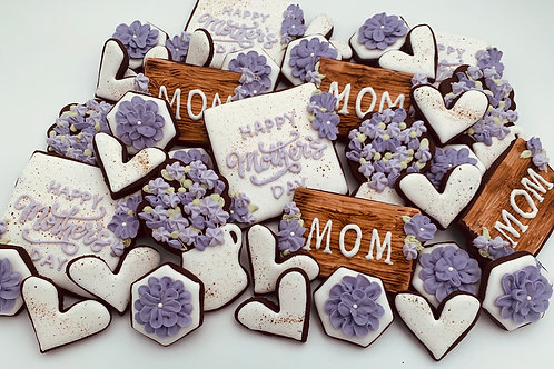 Mother's Day Cookie Box - Small
