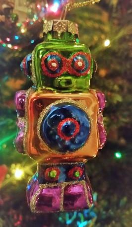 Chrstmas Robot