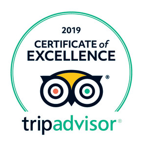TripAdvisor Certificate of Excellence Year 2!