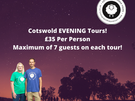 Cotswold Evening Tour £35 Per Person