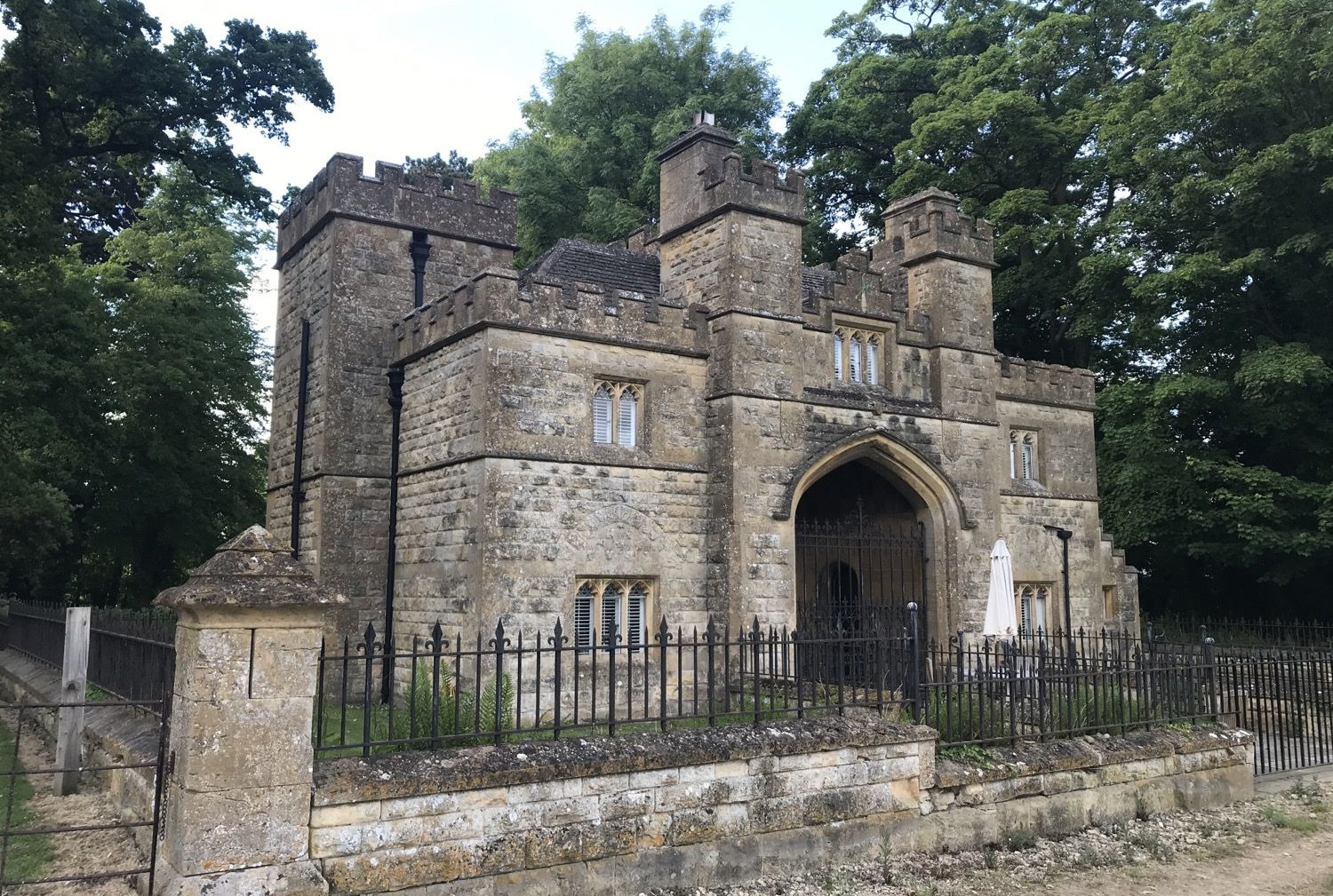 Gate House Sudeley Castle