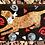 rusty salvaged metal labrador dog leash holder hooks