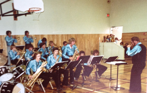 Dad Conducting in the 70s