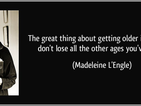 That Time You Saved the Universe--How Madeleine L'Engle had the answers all along