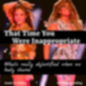 That Time You Were Inappropriate What's really objectified when we body shame by Annie D. Stutley