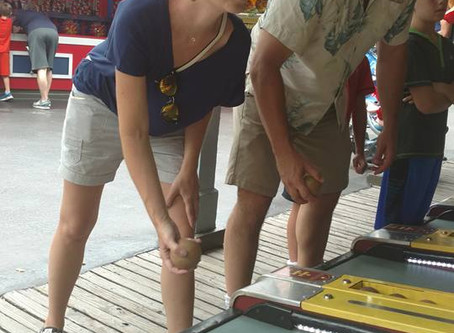 That Time You Got the Corner Pocket--When Skee-Ball is a strategy for relationships