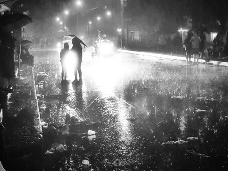 That Time You Danced in the Rain--When a wet Mardi Gras is a metaphor for life