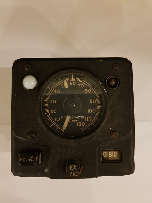 Aeronautical Intervalometer Mine hunting photo equipment