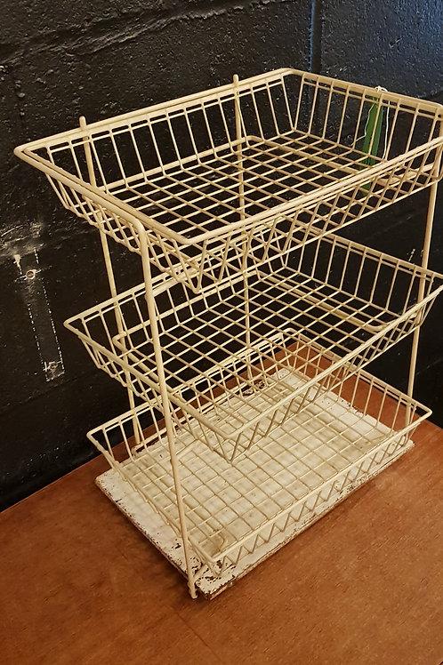 Wire Basket Kitchen/Office Organiser