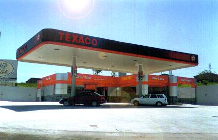 2000 – Construção da cobertura metálica e revestimento ACM do Posto Jardim Miriam