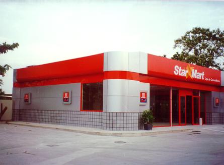 1996 – Construção da loja de conveniências Star Mart do posto Recreio.