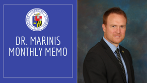 Dr. Marinis Monthly Memo- December 2019