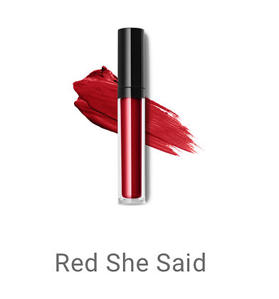 Liquid Lipstick - Red She Said