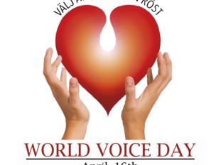 Världsröstdagen 16:e april!🎉