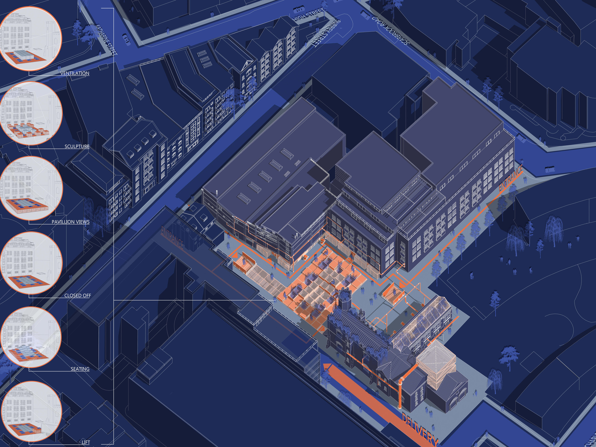 Evelyna masterplan with antonis courtyar