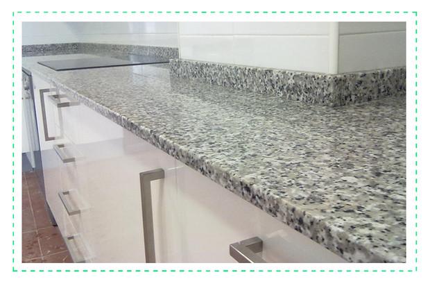 Qu encimera de cocina elegir cambra estudio estudio for Precio metro lineal encimera granito