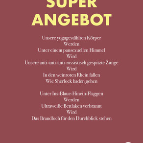 Gedicht: Superangebot