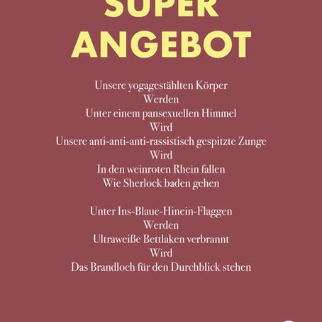 Gedicht: Superangebot