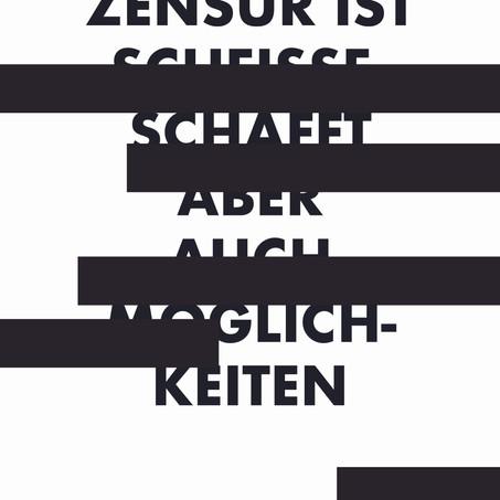 Gedicht: Zensur
