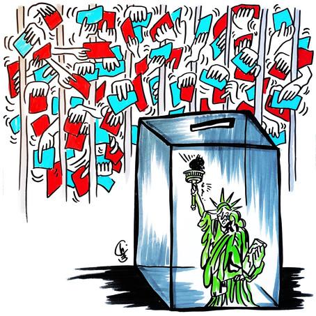 We shall overcome! - Drei Lehren aus der Präsidentschaftswahl in den Vereinigten Staaten