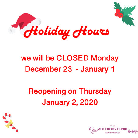 🎄Holiday Hours 2019 🎄