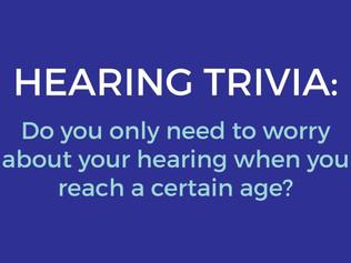 Hearing Trivia!