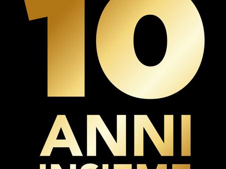 10 ANNI INSIEME