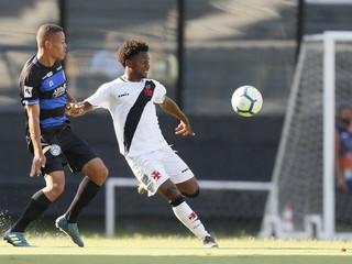 Após duelo equilibrado com o Vasco, Tubarão se despede da Copa do Brasil Sub-20
