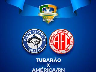 Copa do Brasil: Tubarão recebe o América-RN na Vila