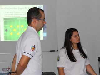 Professor e estudantes da UFSC apresentaram projetos no Tubarão