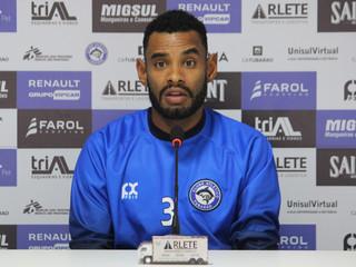 Completando um ano no Peixe, Jailton fala sobre início de preparação para Copa SC