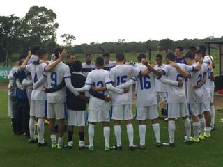 Sub-20 entra na reta final de preparação para Copa SP