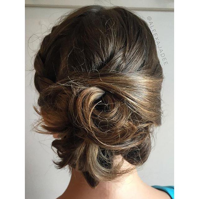 #updo #mua #hair #hairdresser  #cosmetol