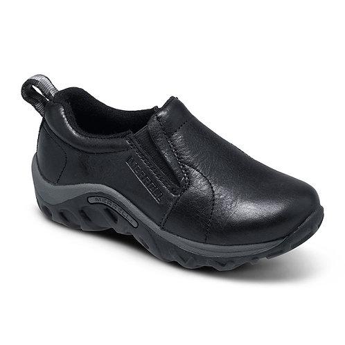Jungle Moc Black Leather
