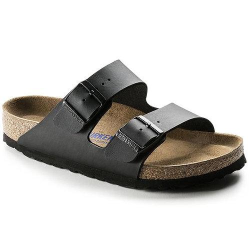 Arizona Black Narrow Soft Footbed