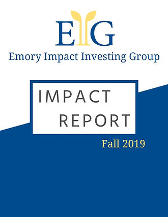 EIIG fall 2019impact report cover image.