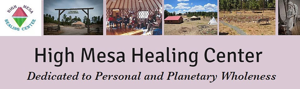high mesa healing center yurt labyrinth classes