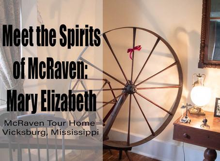 Meet the Spirits of McRaven: Mary Elizabeth Howard