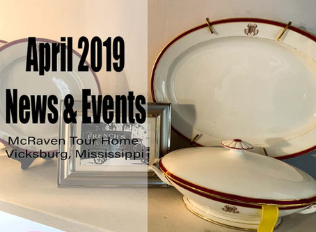 April 2019 News and Events