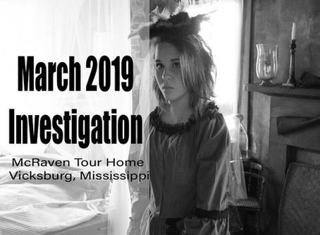 March 2019 Ghost Investigation Recap