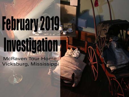 February 2019 Ghost Investigation Recap
