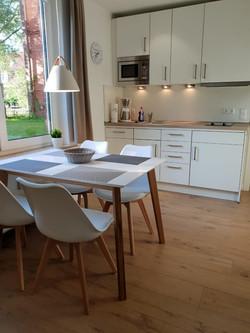 Hochwertig ausgestattete Küche