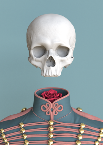 Inspired by Señor Salme's illustration Model: Maya Render: Octane Texture: Mari