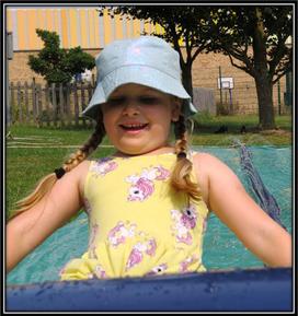 Zara - All smiles in the sun