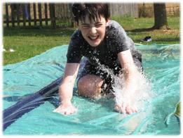 Ben - Splishing & Splashing